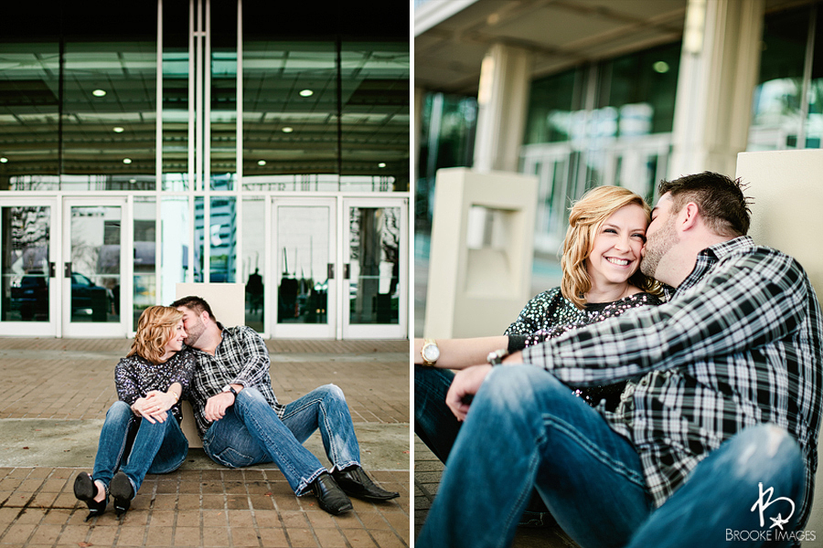 Jacksonville Wedding Photographers, Brooke Images, Downtown Jacksonville, Natalie and James Engagement Session