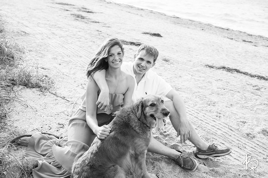 Tampa Bay Wedding Photographers, Brooke Images, Fort Desoto National Park, Baily, Chris and Dixie, Dog Beach, Fort, St. Petersburg