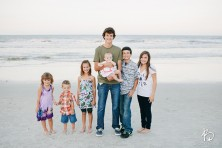 Jacksonville Lifestyle Photographers, Brooke Images, Family Beach Session, Pollock Family Session