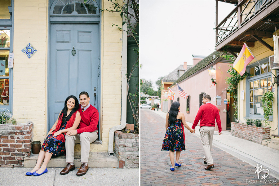 St. Augustine Lifestyle Photographers, Brooke Images, Monica and Manny