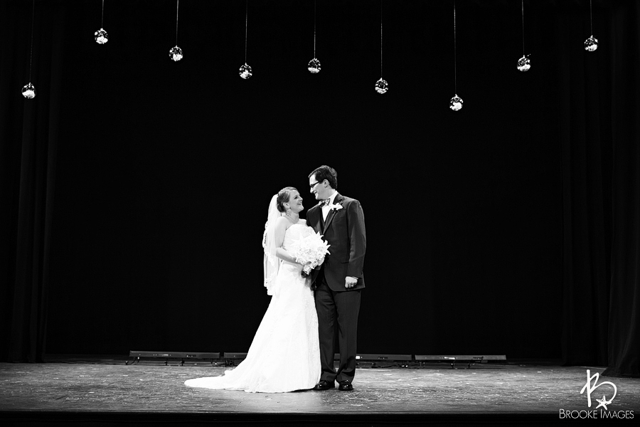 Jacksonville Wedding Photographers, Brooke Images, Theatre Jax, Katie and Greg