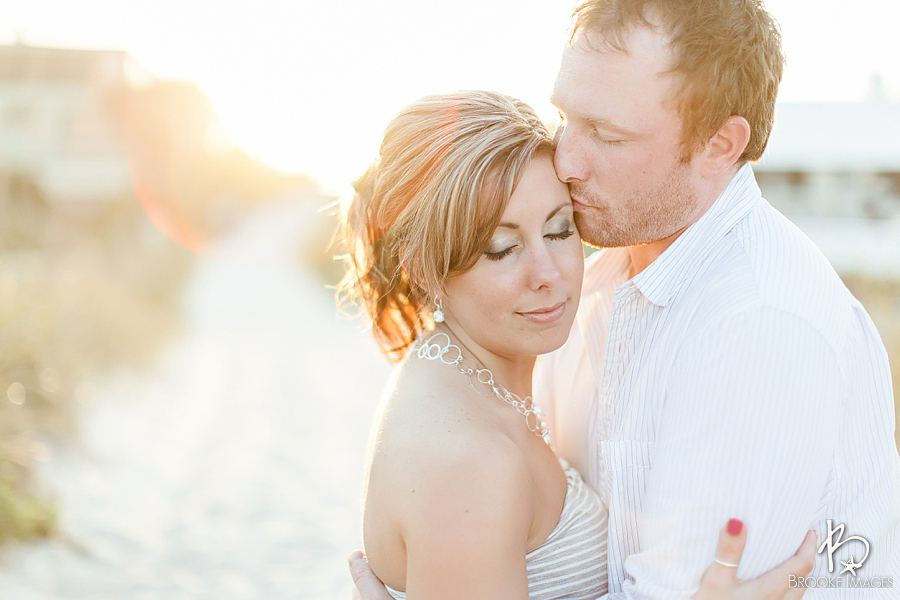 Jacksonville Wedding Photographers, Brooke Images, Beach Session, Engagement Session, Janae and Bill