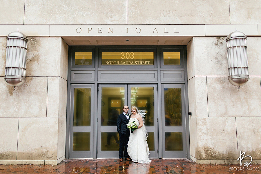 Jacksonville Wedding Photographers, Brooke Images, Jacksonville Public Library, Emma and John