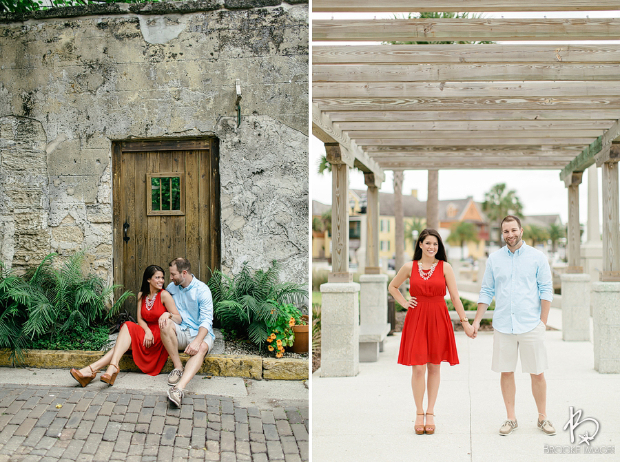 St. Augustine Wedding Photographers, Brooke Images, Jacksonville, Andrea and Josh