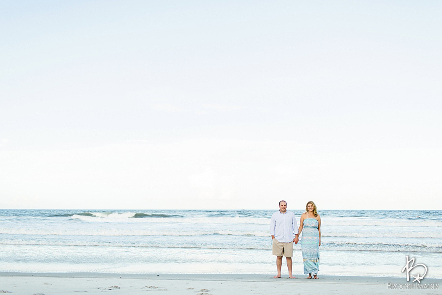 Jacksonville Wedding Photographers, Brooke Images, Beach Session, Lauren and Dan