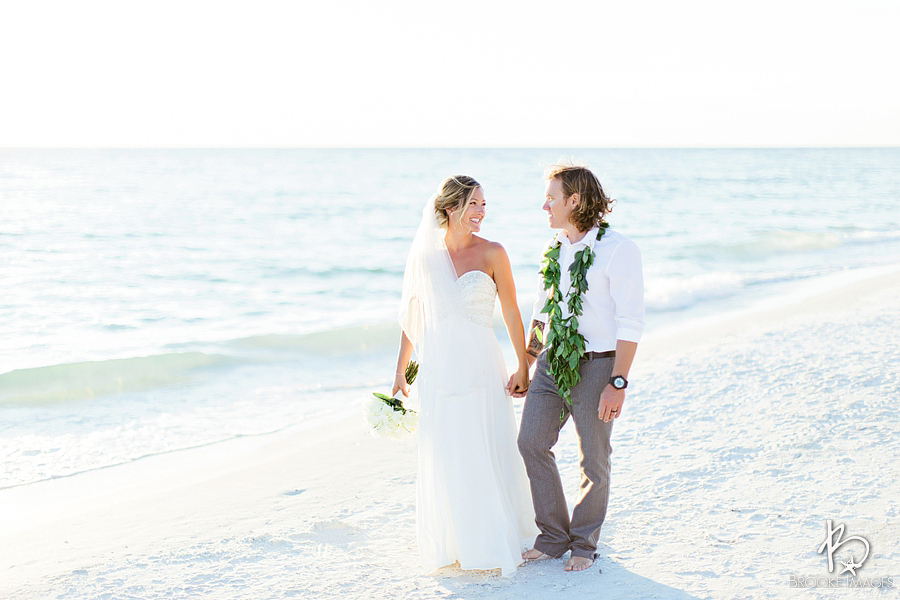 Anna Maria Island Wedding Photographers, Brooke Images, Tampa Bay Wedding Photographers, Beach Wedding, Alex and Louie