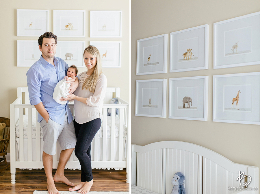 Ponte Vedra Lifestyle Photographers, Brooke Images, Newborn Session, The Robinsons