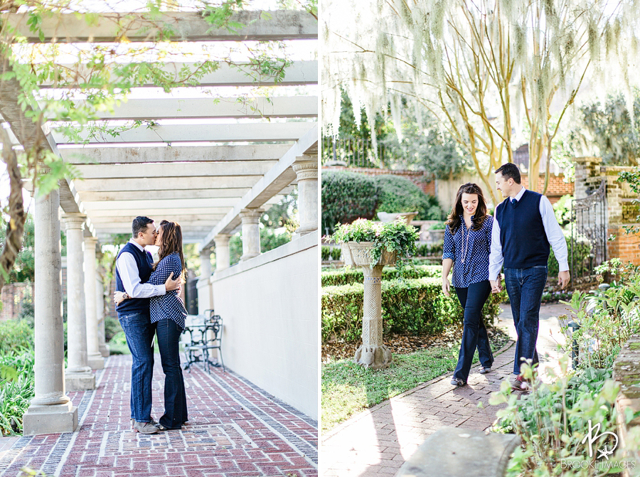 Jacksonville Wedding Photographers, Brooke Images, The Cummer Museum, Kirianne and Brent, Engagement Session