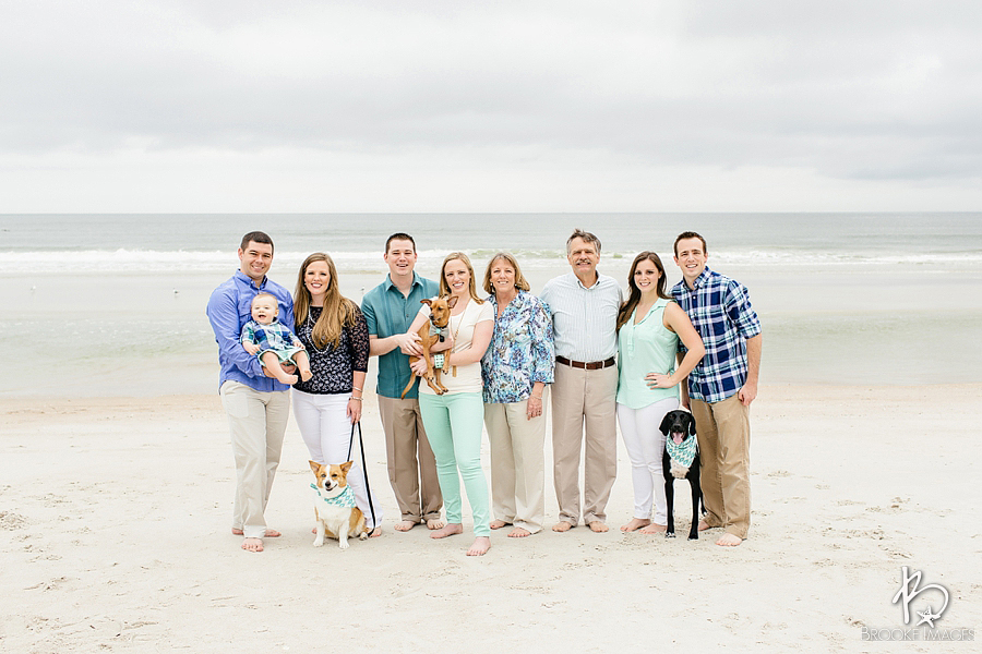 Jacksonville Lifestyle Photographers, Brooke Images, Clark Family Beach Session