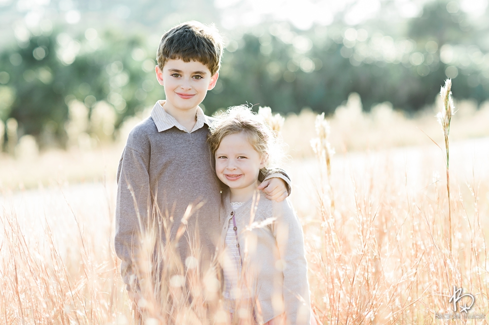 Ponte Vedra Beach Lifestyle Photographers, Brooke Images, Battah Family Session, Kids, Field Picture, High Grass