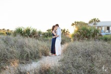 St. Augustine Wedding Photographers, Brooke Images, Engagement Session, Beach Session, Erica and Steve