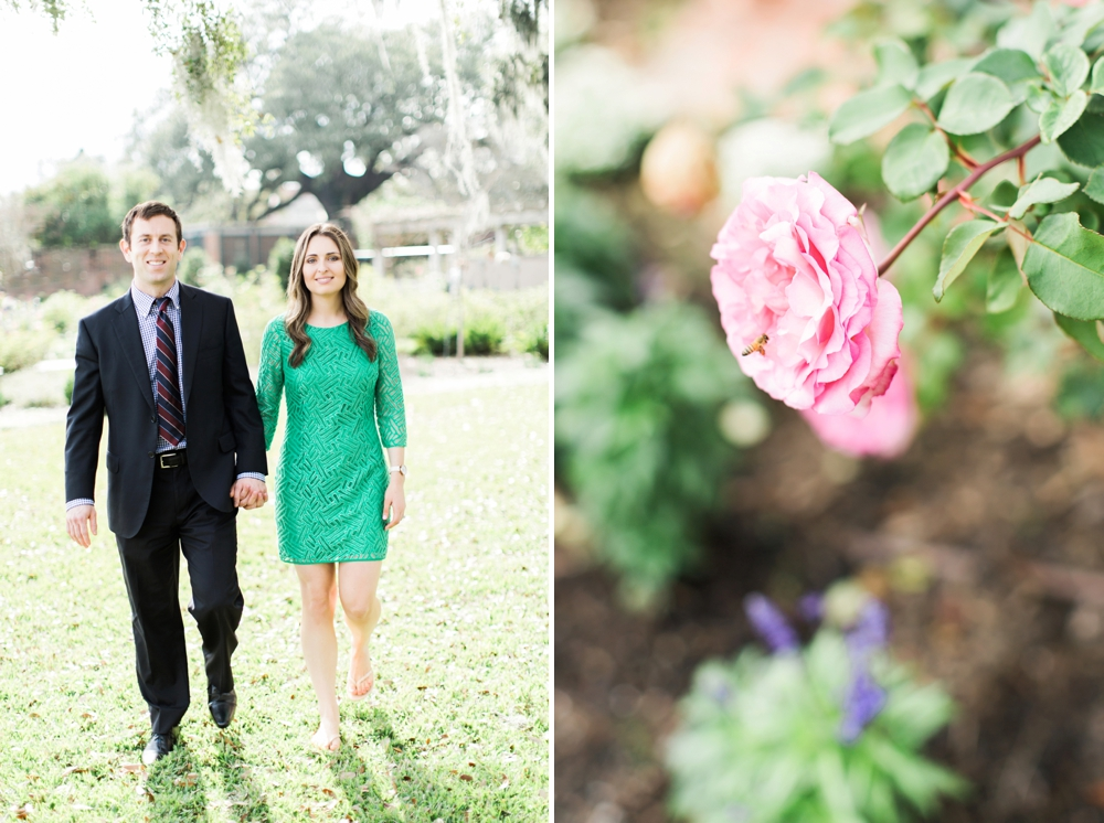 Jacksonville Wedding Photographers, Brooke Images, Christy and Taylor Engagement Session, The Cummer Museum