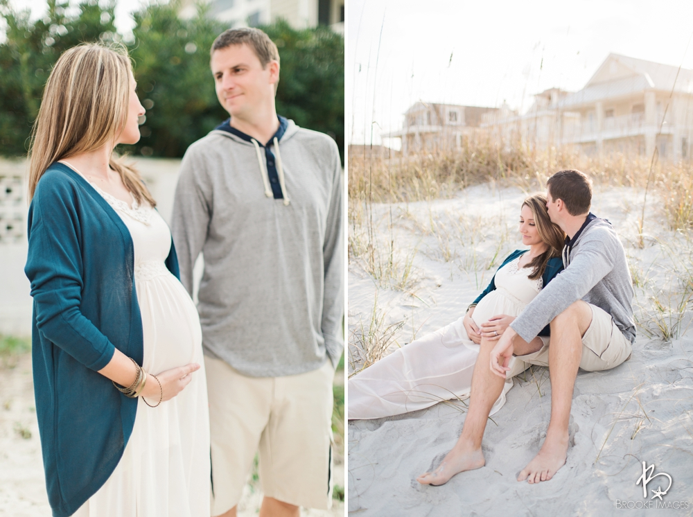 Jacksonville Lifestyle Photographers, Brooke Images, Maternity Session, Beach Session, Katie and Kyle
