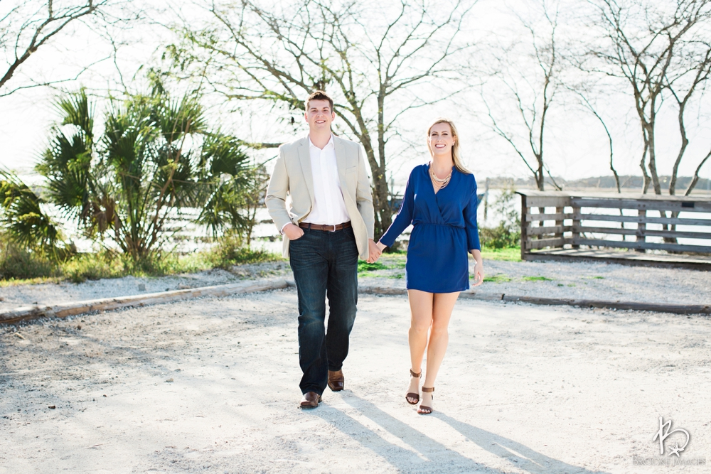 Amelia Island Wedding Photographers, Brooke Images, Beach Session, Jenna and Brent