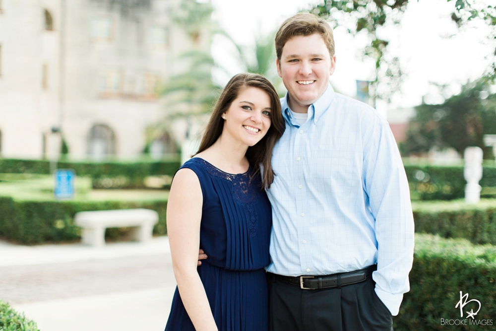 St. Augustine Wedding Photographers, Brooke Images, Lindsey and Dan, Engagement Session