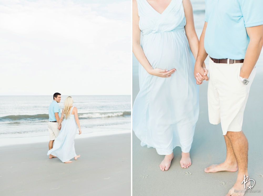 Jacksonville Lifestyle Photographers, Brooke Images, Beach Session, Maternity Session, Meghan and Luke