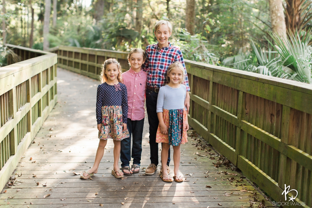 Jacksonville Lifestyle Photographers, Brooke Images, Tuttle Family Session, Park, Oak Trees, Light, Moss