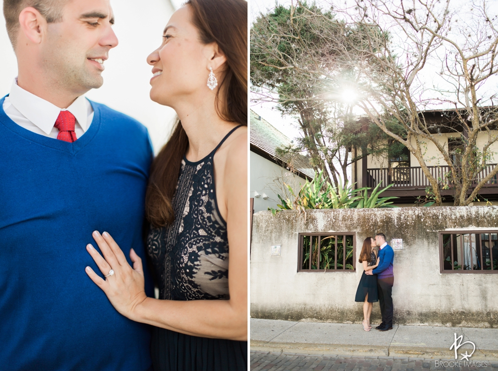 St. Augustine Wedding Photographers, Brooke Images, Downtown Engagement Session, Beach Session, Renee and Lindsey