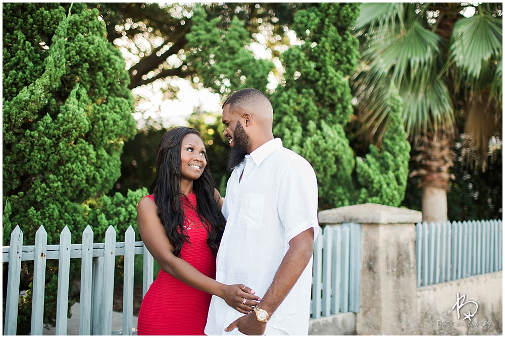 St. Augustine Wedding Photographers, Brooke Images, Downtown Engagement Session, Erica and Patrick, Beach Session