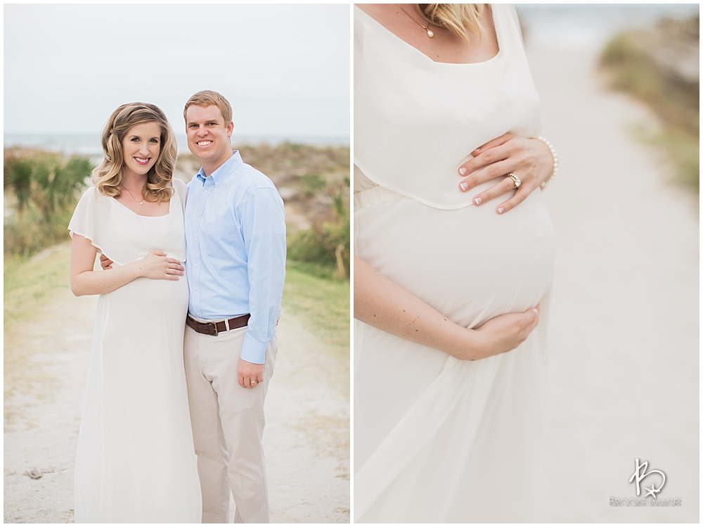 Jacksonville Lifestyle Photographers, Brooke Images, Maternity Session, Beach Session