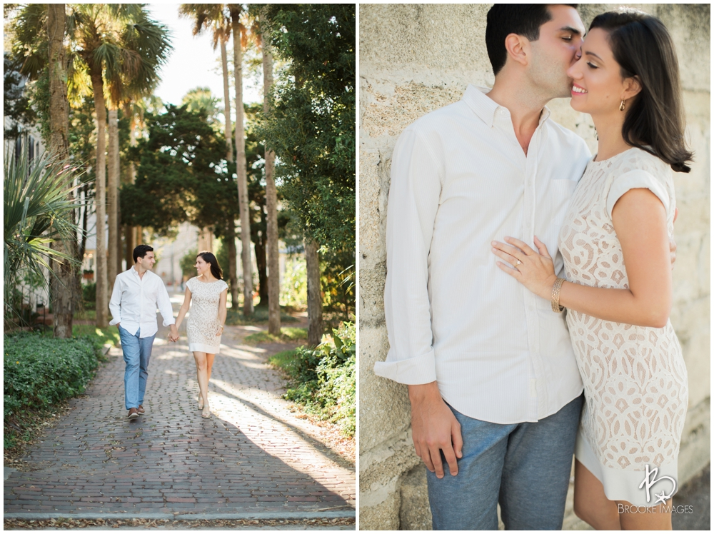 St. Augustine Wedding Photographers, Brooke Images, Engagement Session, Alexis and Michael