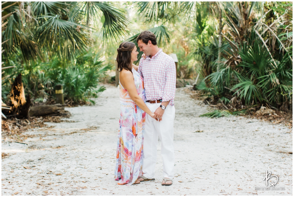 ponte vedra beach wedding photographers, brooke images, engagement session, kallie and lockes engagement session