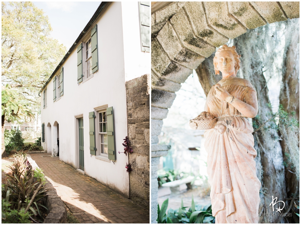 St. Augustine Wedding Photographers, Brooke Images, The Oldest House, Christen and Marijus