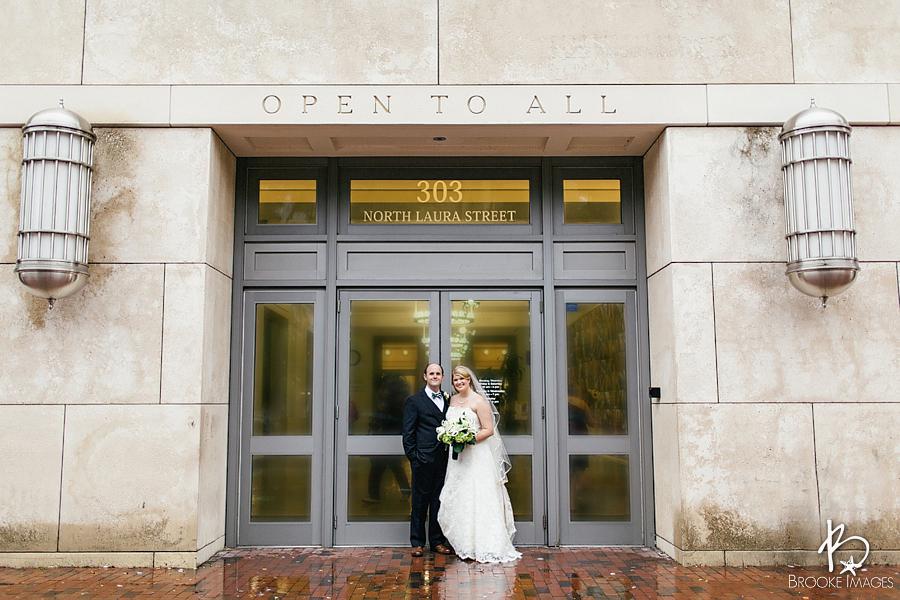 Jacksonville Wedding Photographers Brooke Images Public Library Emma And John