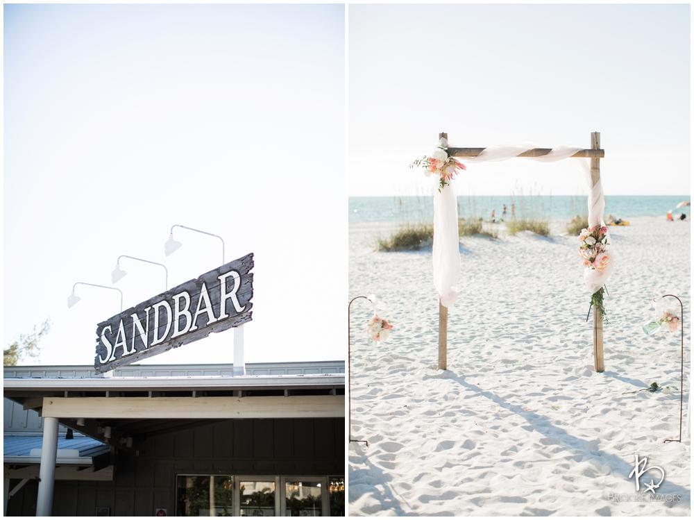 Tampa Bay Wedding Photographers Brooke Images Anna Maria Island Sandbar Restaurant